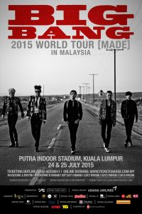 BIGBANG 2015 WORLD TOUR [MADE] IN MALAYSIA POSTER