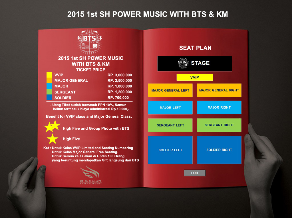 Press Release 2015 First Sh Power Music With Bts