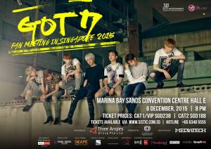 Got7 Fanmeet in Singapore
