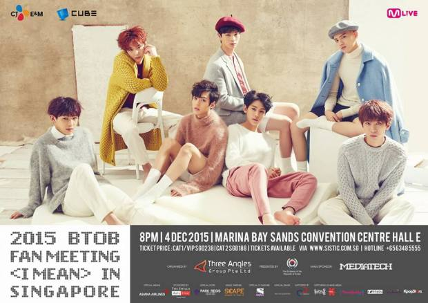 BToB I MEAN Fanmeet in Singapore