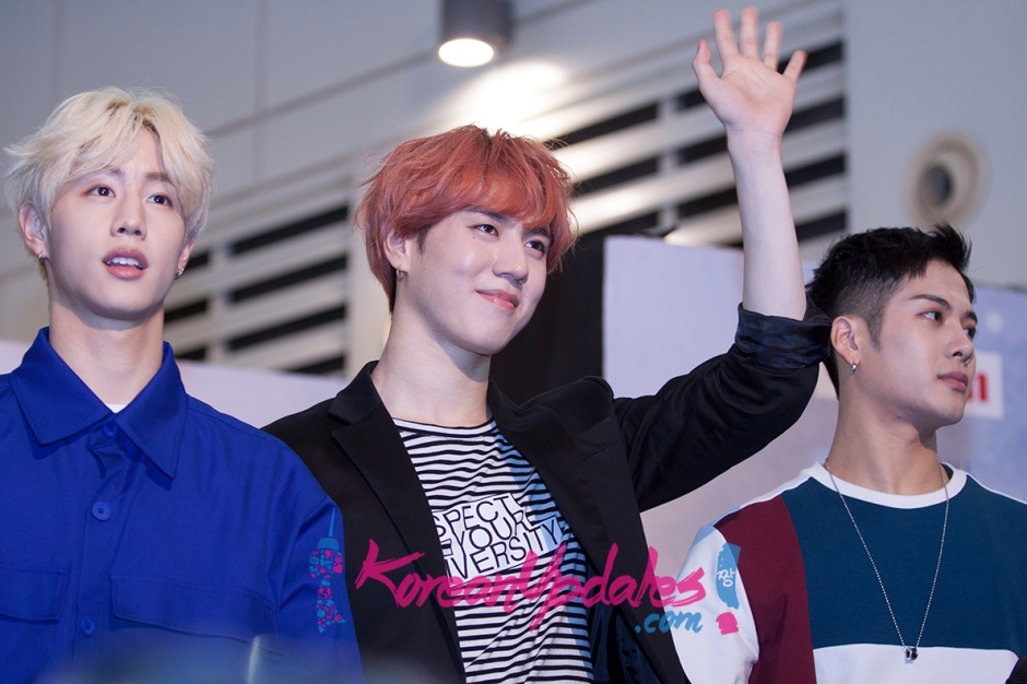 GOT7 Fly In Singapore 2016 Press Conference
