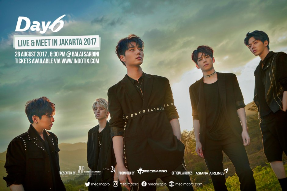 DAY6 FANMEET IN JAKARTA 2017_Official Poster