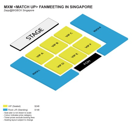 [MXM] Official Seat Map