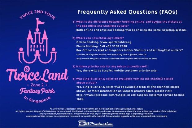 TWICE FAQ