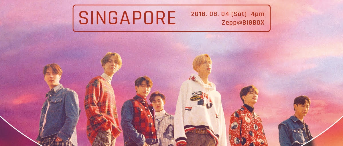 """GOT7 Got Their """"Eyes On You"""", Singapore! Get Ready for GOT7's World"""