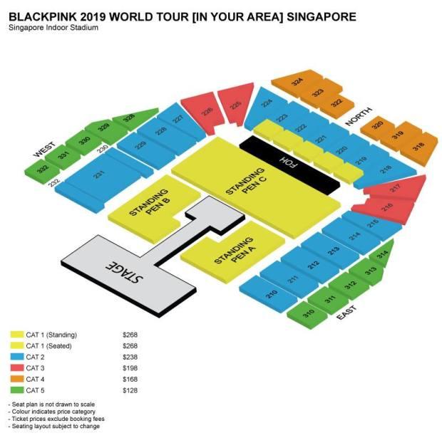 BP Seat Plan