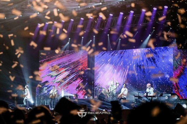 Indonesia MY DAY Surprised DAY6 With A Sing Along Concert