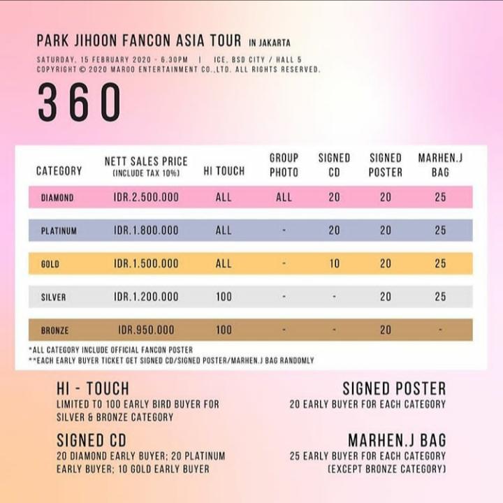 JIHOON JKT PRICE